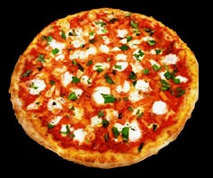 Lazy Mary's Margherita Pizza